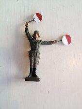 B159/    Lineol Soldaten Figur 2 Wk. von ca. 1935