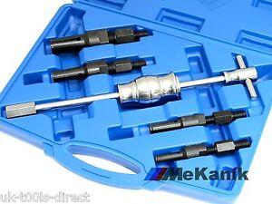5pc Inner Bearing Puller Tool Set Blind Hole Tool Slide Hammer Kit Pilot Needle