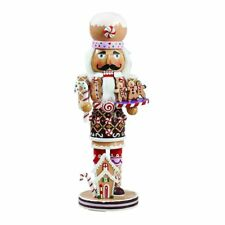 Gingerbread Wooden Christmas Nutcracker Holiday Decoration 16 Inch C1027 New