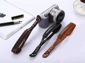 PU Leather Camera Hand Wrist strap For Fujifilm Pentax Samsung Sony GE