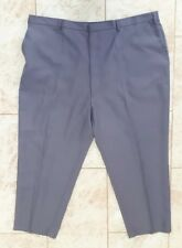 Chums Mens Size W50 L28 Grey Trousers Elasticated Waist Casual Winter Wear 50""