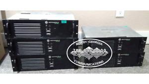 XPR8300 AAM27TRR9JA7AN Motorola MotoTRBO UHF R2 DMR Analog Digital Repeater
