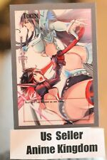 USA Seller Anime Sexy Orica Token Back of Card In Japanese kill la kill ryuko #8