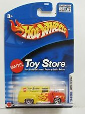 HOT WHEELS MATTEL TOY STORE EXCLUSIVE 56 FORD PANEL WITH FLAMES