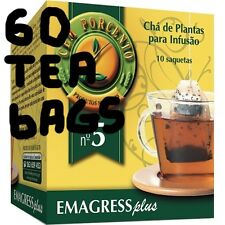 60 TEA BAGS for WEIGHT LOSS * Results at the end of a month * Natural products