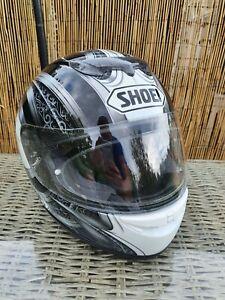 SHOEI Raid 2 Motorcycle Helmet Size XL 61/62 excellent condition.