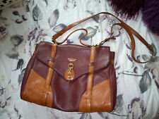 Modalu Whitby Leather Satchle Bag with Horse Detailing