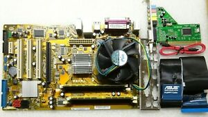 SCHEDA MADRE ASUS P5KPL + CPU INTEL QUAD Q6600 4X2.40GHZ +4GB RAM DDR2 800 MHZ