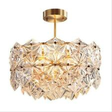 New Listing10-Light Crystal Pendant Lamps Modern Gold Chandeliers Ceiling Fixtures Lighting