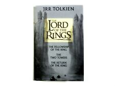 JRR TOLKIEN The Lord Of The Rings Trilogy Book Hardback Harper Collins 2002