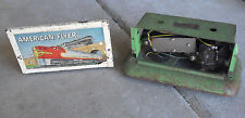 Vintage American Flyer S Scale Metal Billboard Base and Sign Top Parts LOOK