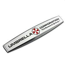 Aufkleber Emblem Schriftzug umbrella corporation 100% Metall