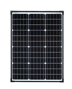 enjoysolar® Monokristallin 60Watt PERC Zellen 12V Solarmodul Solarpanel 60W