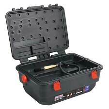 Sealey Mobile Garage/Work Parts/Tools Cleaner / Cleaning Tank with Brush - SM222