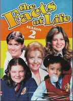 The Facts Of Life Season 2- New Sealed DVD 2-Discs