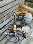 Flight Box Field Box For RC Model planes home made starter fuel pump Glow tools