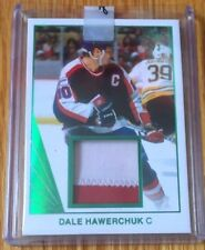 2017-18 Leaf Hockey 1990 Memorabilia of Dale Hawerchuk -/3  - 2 colour patch