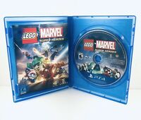 LEGO Marvel Super Heroes PS4 Game - Excellent Condition - booklet included