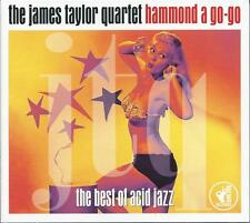 The James Taylor Quartet - Hammond A Go-Go - Best Of Acid Jazz 2CD NEW/SEALED