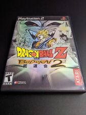 Dragon Ball Z Budokai 2 Black Label Sony Playstation 2 PS2 EX+NM condition