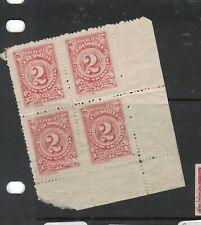 Colombia SC 327 Block of Four, Two MNH (2dwl)