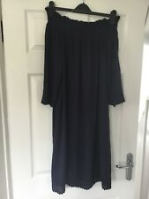 BNWT Tesco Ladies Blue Off The Shoulder Dress Size 10