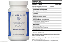 Klaire Labs InterFase Plus 120 Vegcap - Exp Date: 06/2019