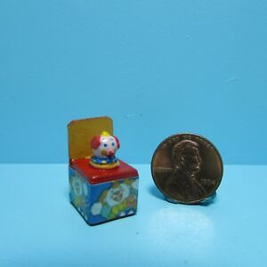 Dollhouse Miniature Jack In The Box Toy  IM65106
