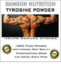 TYROSINE 100g UNFLAVOURED PHARMACEUTICAL GRADE PREMIUM QUALITY BEST AVAILABLE
