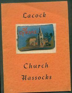 LACOCK CHURCH HASSOCKS BOOKLET ST CYRIAC'S CHURCH  LACOCK