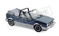 "VW Golf I Cabrio 1992 ""Bel Air"" blau metallic 1:18 Norev 188404 neu & OVP"