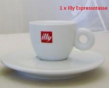 Illy Espresso, Espressotasse 60 ml O/U 1 Stück weiß mit rotem Illy Logo