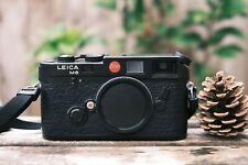 Leica M6 Rangefinder Film Camera- Black