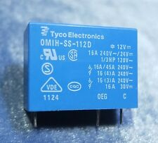 Tyco OMIH-SS-112D 12VDC 16A PCB Relay 5pin