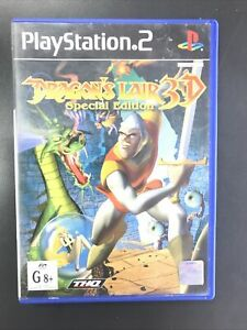 Dragon's Lair 3D Special Edition Playstation 2 Ps2 AUS PAL Complete - 146962