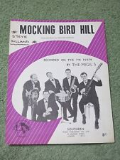 THE MIGIL 5 Mocking bird hill 1960s Music Song Sheet!
