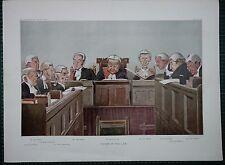 1902 Vanity Fair doppio dimensioni stampa ~ capi di diritto giustizia Barnes bigham Wright