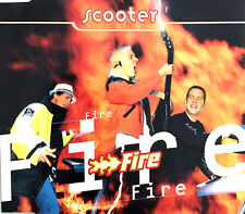 Scooter Maxi CD Fire - Europe (EX/EX+)
