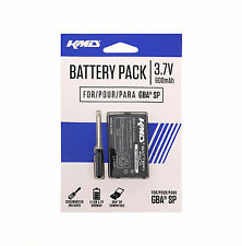 GBA SP Battery Rechargeable Lithium Ion With Screwdriver