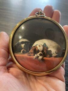 King Charles Spaniels by Sir Edwin Landseer Tate Miniature World Of Peter Bates