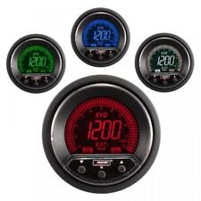 Prosport Evo 52mm LCD EGT Exhaust Gas Temp Gauge 4 colour with peak and warning
