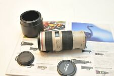 USA Canon EF 70-200mm f/4L IS USM Lens For 5D Mark IV III 80D 70 1DX