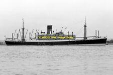 mc0104 - Glen Line Cargo Ship - Glenearn - photo 6x4