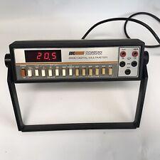 Bampk Precision 2830 Digital Multimeter Powers On Electronics Test Equipment