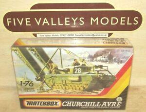121021/01 Matchbox PK-177 Churchill A.V.R.E 1:76 Scale Still Sealed.