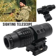 Hunting 3X Magnifier Scope Sight Holographic Sighting Telescope Outdoor Sports