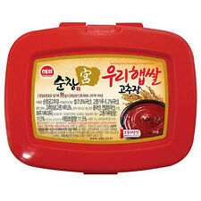 Sunchang Red Pepper Paste Gochujang Korean Traditional Food Hot Spicy Sauce 6oz