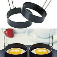 Non Stick Stainless Steel Egg Frying Ring Circle Round Fried Poach Mould