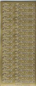 Sticker-Bogen-Frohe Weihnachten-gold-silber und verschiedene Farben-W-0451