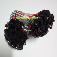 WS2812BWS2811 WS2812 Female Male 3-Pin Connectors plug LED Pixels Strip 15CM